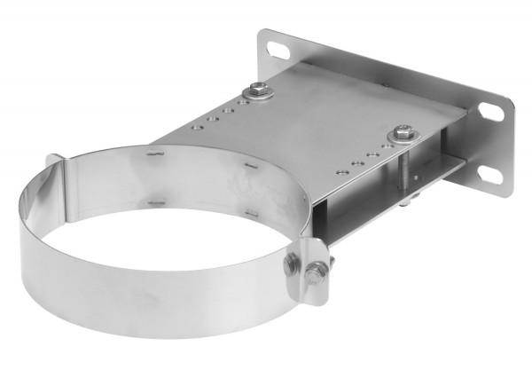 Wandhalter verstellbar 160-250 mm Edelstahl doppelwandig - eka complex D 25