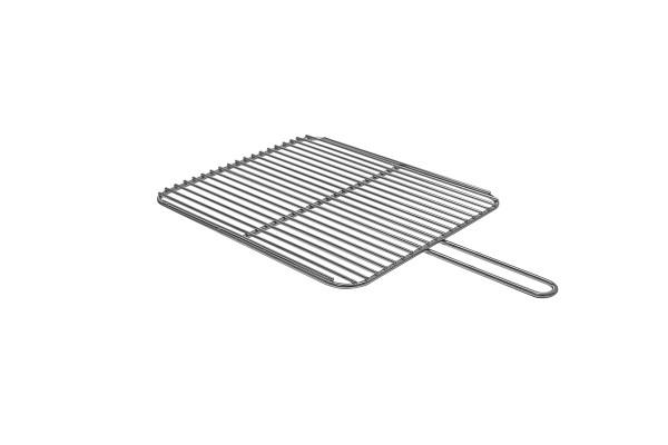 Grillrost verchromt eckig 40 x 45 cm