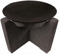 Feuerschale Granito, Ø 58 cm, schwarz Granit - SMFF80