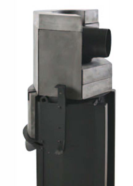 Speicherblock 110 kg Kaminofen Spartherm Ambiente A4 - Abgang hinten