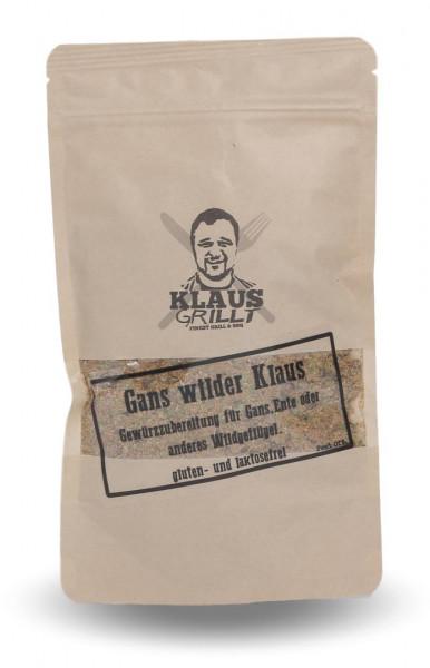 Klaus Grillt GANS WILDER KLAUS Gewürz, 100 g