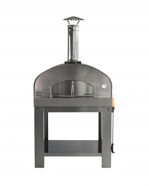 Pizzaofen Edelstahl mit Untergestell MATTEO L Feuercampus365