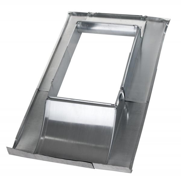 Dachdurchführung Eindeckrahmen titanzink - verstellbar