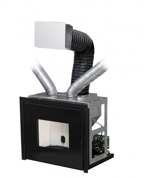 Pelleteinsatz MCZ VIVO 80 inkl. BASIC Comfort Air®, 10,5 kW
