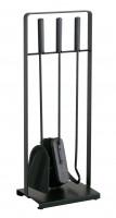 Kaminbesteck Heibi aus Stahl, 3- teilig, schwarz - SM52315-025