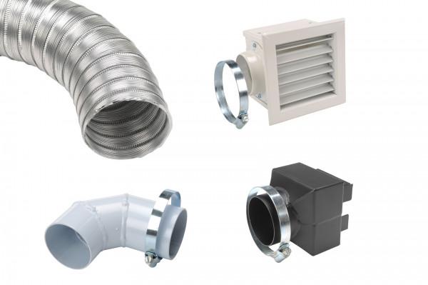 Bausatz zur Luftkanalisierung Ø 60 mm für MCZ Comfort Air®