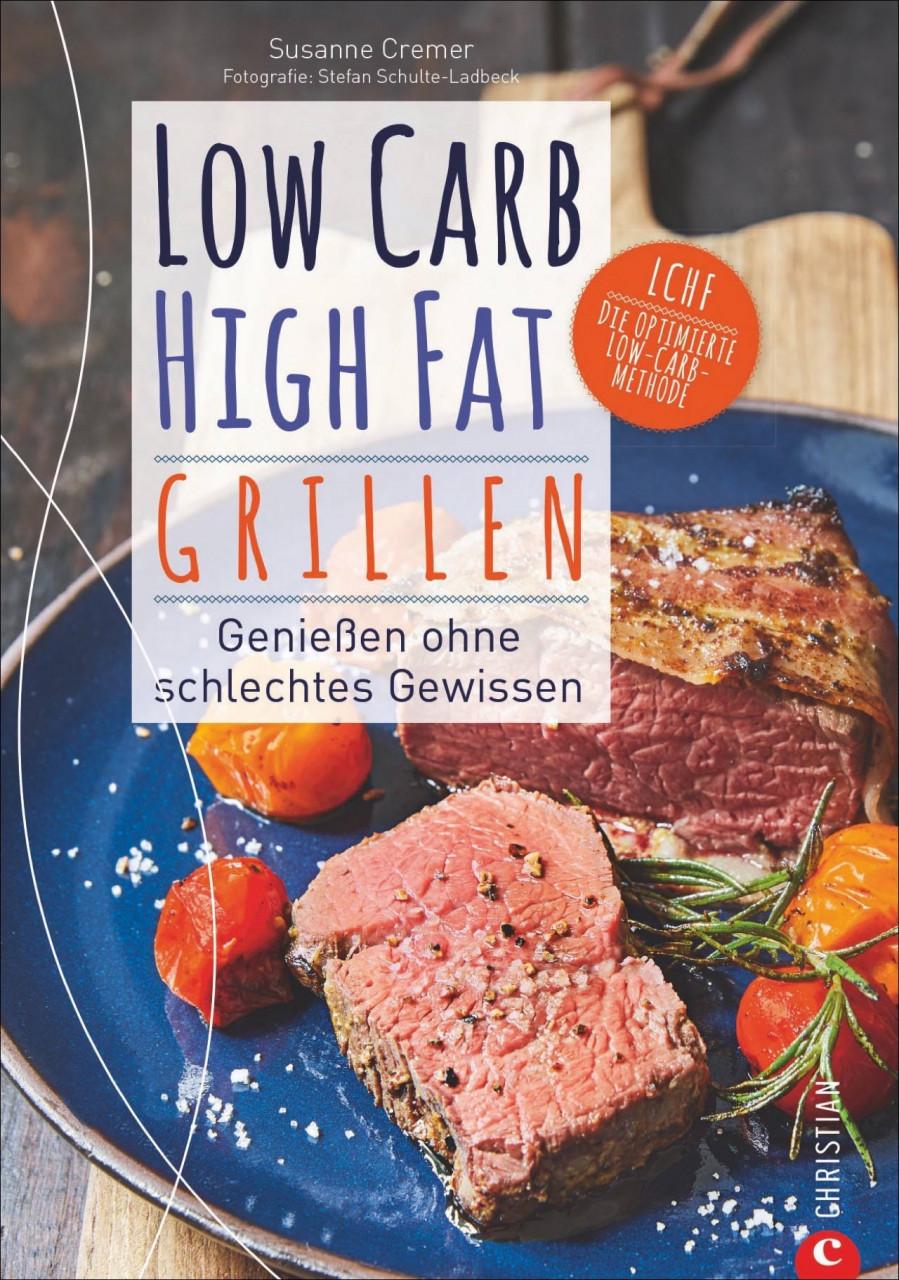 AHA Buch Low Carb High Fat Grillen, Taschenbuch