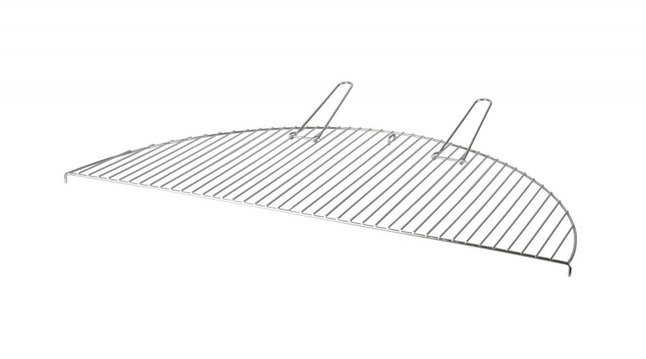 Esschert Design Grillrost halbrund Carbonstahl Esschert, 83 x 42 x 2,3 cm