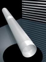 Abgasrohr Flex Kunststoff lfd. Meter - Schräder Future PP - SM5201060