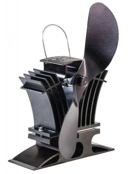 Kaminofen Ventilator Ecofan 806 CAXBX, schwarz-schwarz