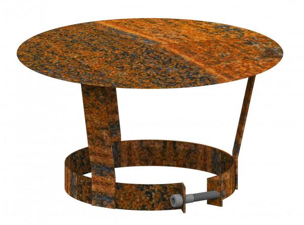 Schornsteinhaube Stahl Rost Ø 150 mm