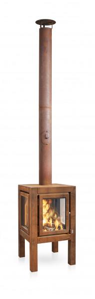 Terrassenkamin Cortenstahl RB73 QUARUBA XL