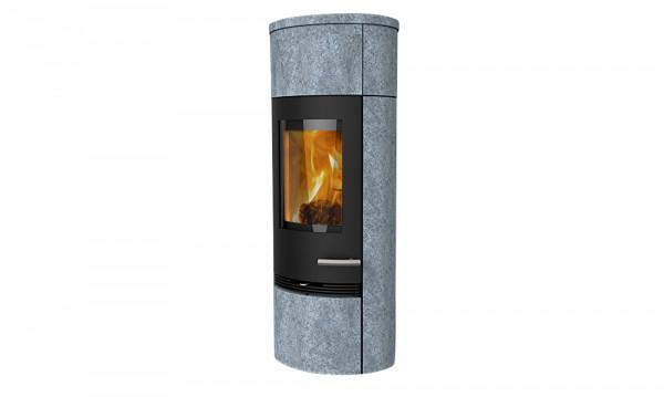 Kaminofen TermaTech TT20Rs Heat Storage Speckstein schwarz, 5 kW