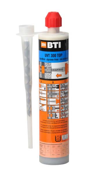 Universalmörtel BTI UVT 300 Top mit Statikmischer, 300 ml