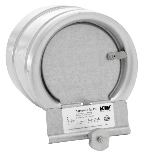 Zugbegrenzer 012 MU mit Rohrfutter, Querschnitt 150 mm