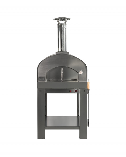 Pizzaofen Edelstahl mit Untergestell GASPARO Feuercampus365