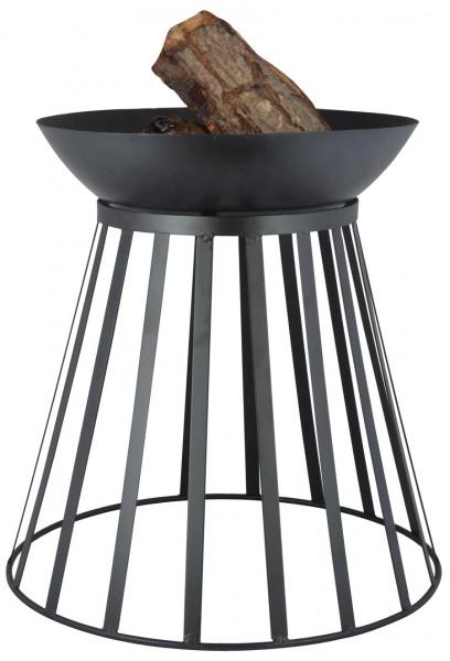 Feuerkorb Feuerschale Stahl, umdrehbar