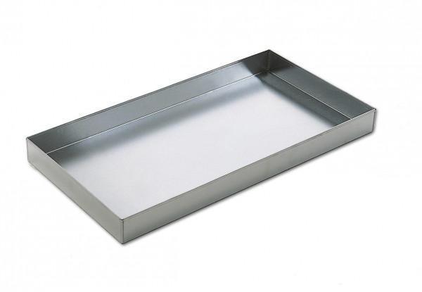 Grillschale tief Aluminium, 51 x 37 x 6 cm