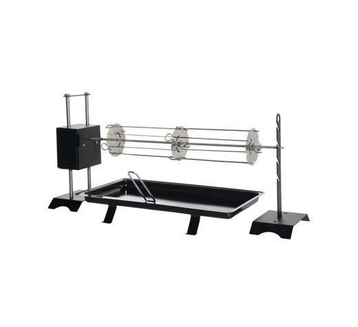 Grillspieß mit Elektromotor 80 x 30 x 40 cm