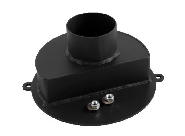 Außenluftstutzen Ø 80 mm schwarz TermaTech TT20 Modelle