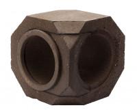 Keramik Modul Speicher 300 Bogen 90° 300 x 300 x 300 mm, Ø 180 mm - SM1603002