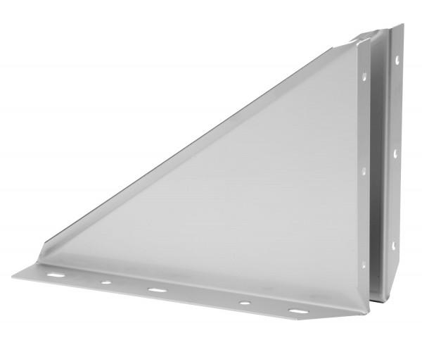 Wandkonsole starr 50 mm Edelstahl doppelwandig - eka complex D 25
