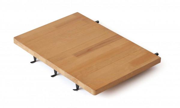 Seitenablage aus Holz, für Grillkamine Sunday® ONE Serie