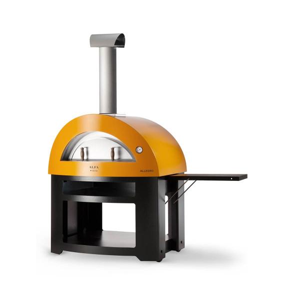 Pizzaofen Edelstahl Alfa Pizza ALLEGRO mit Untergestell