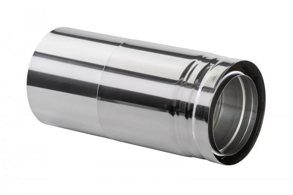 Längenausgleichsrohr 330-420 mm doppelwandig - eka cosmos D 25