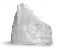 Grillkamin Abdeckhaube aus PE Gewebe weiß 220 x 220 x 92 cm - SM4009047