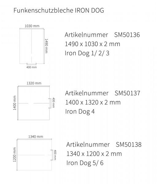 Funkenschutzplatte Brunner Iron Dog