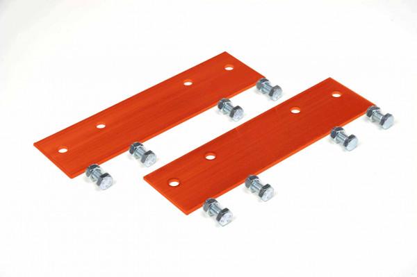 Verbindungsstücke für Dachleitern, Aluminium, kupferbraun, starr