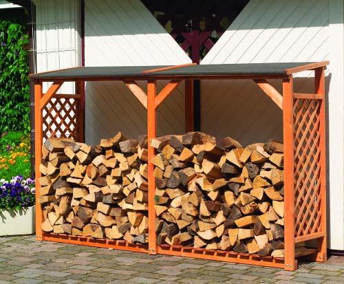 Erweiterungselement für Brennholzregal SPEYER