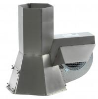 KW Rauchsauger INJEKT RS225 Edelstahl für Querschnitte 200-250 mm - SM2108083