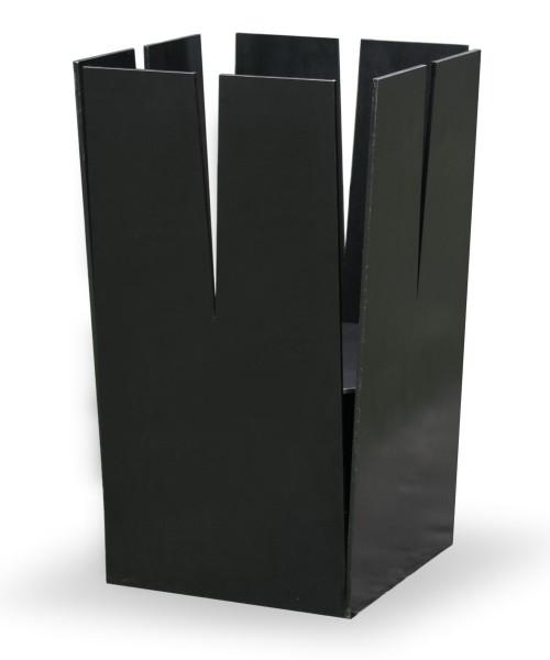 Ricon Feuerkorb TURM KLEIN, Stahl geölt, 30 x 30 cm