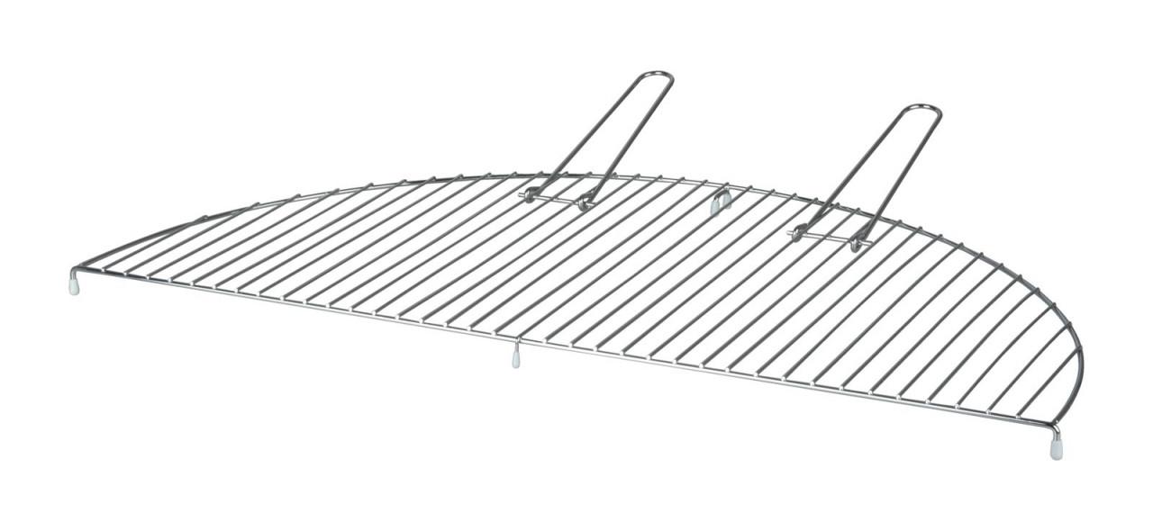 Esschert Design Grillrost halbrund Carbonstahl Esschert 73 x 37 x 2,3 cm