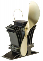 Kaminofen Ventilator Ecofan 806 CABBX, schwarz-gold - SM806CABBX