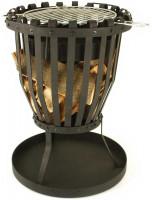 Landmann Feuerkorb aus Flachstahl inkl. Grillrost, schwarz - SM11768