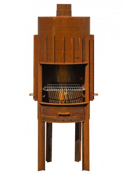 Terrassenkamin Rost Stahl PRIMUS Feuercampus365