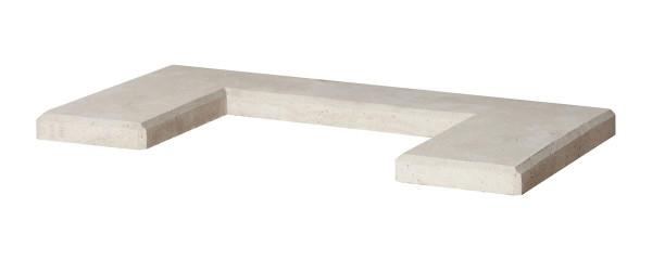 Abdeckplatte Grillbar, 95 x 51 x 5 cm